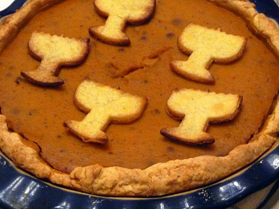 Vanilla pumpkin pie joy of kosher for Pumpkin pie with a twist