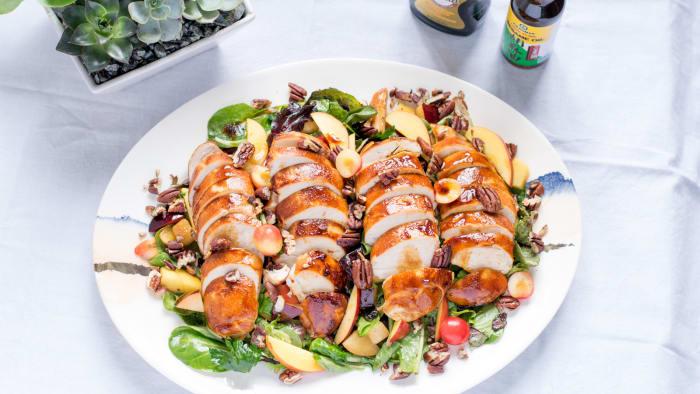 Stone Fruit Chicken Salad