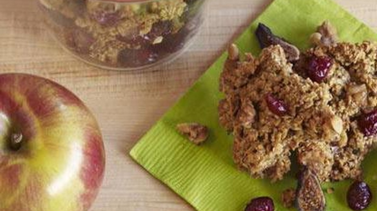 walnut cluster snack