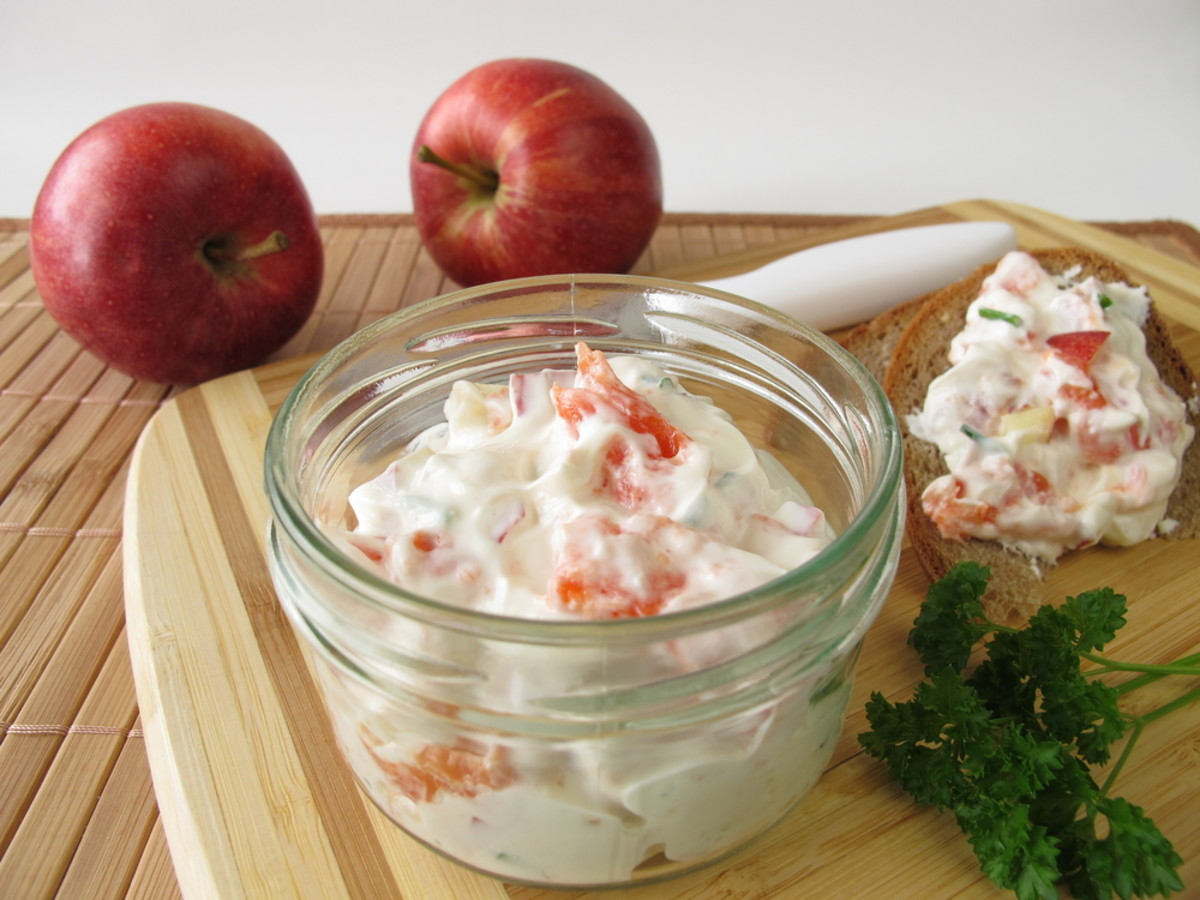 rosh hashana fruit spread