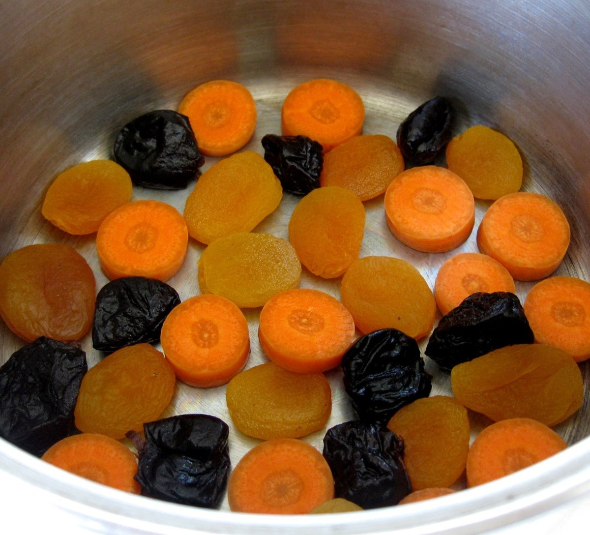 carrots and prunes