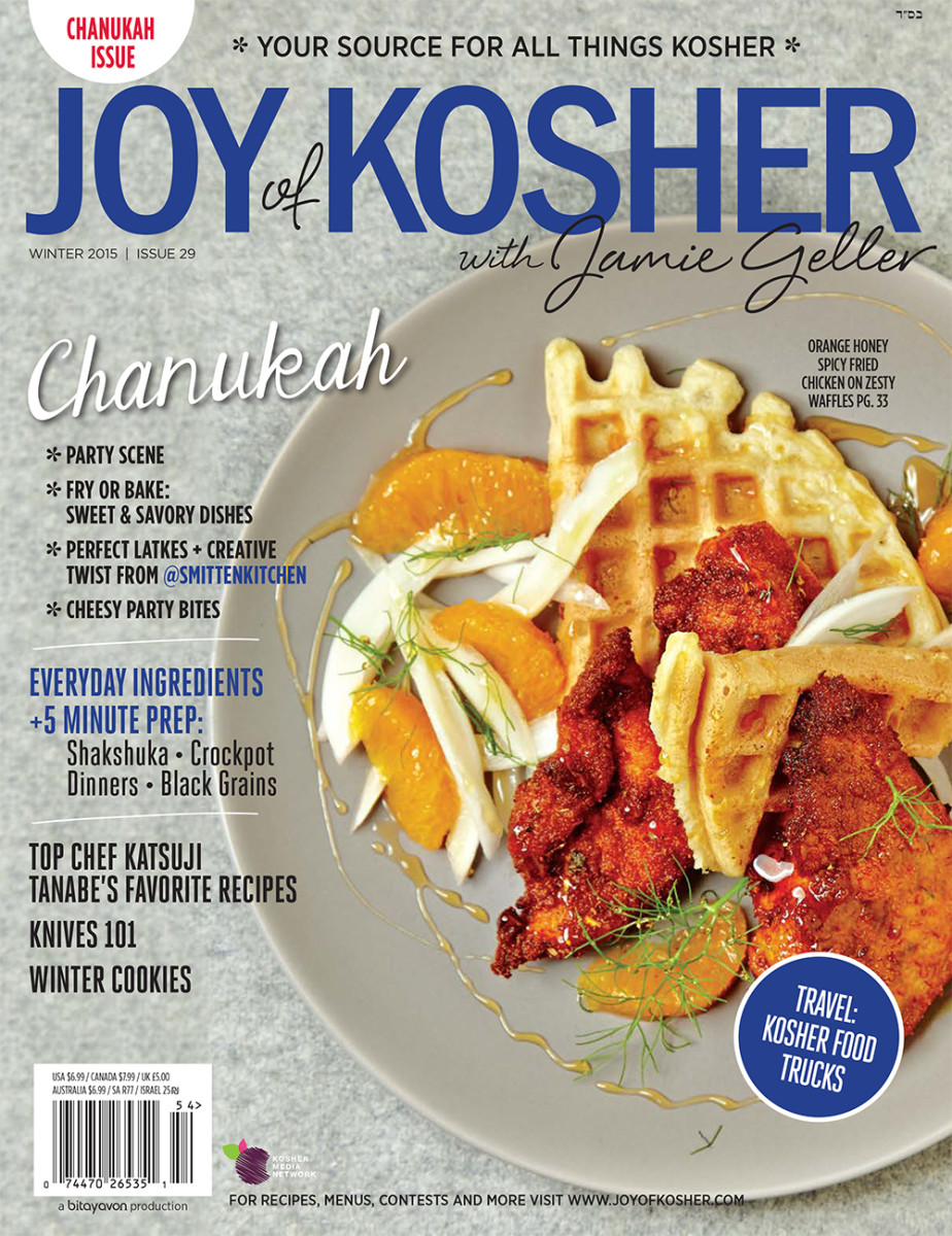 JoyofKosher with Jamie Geller Chanukah Magazine