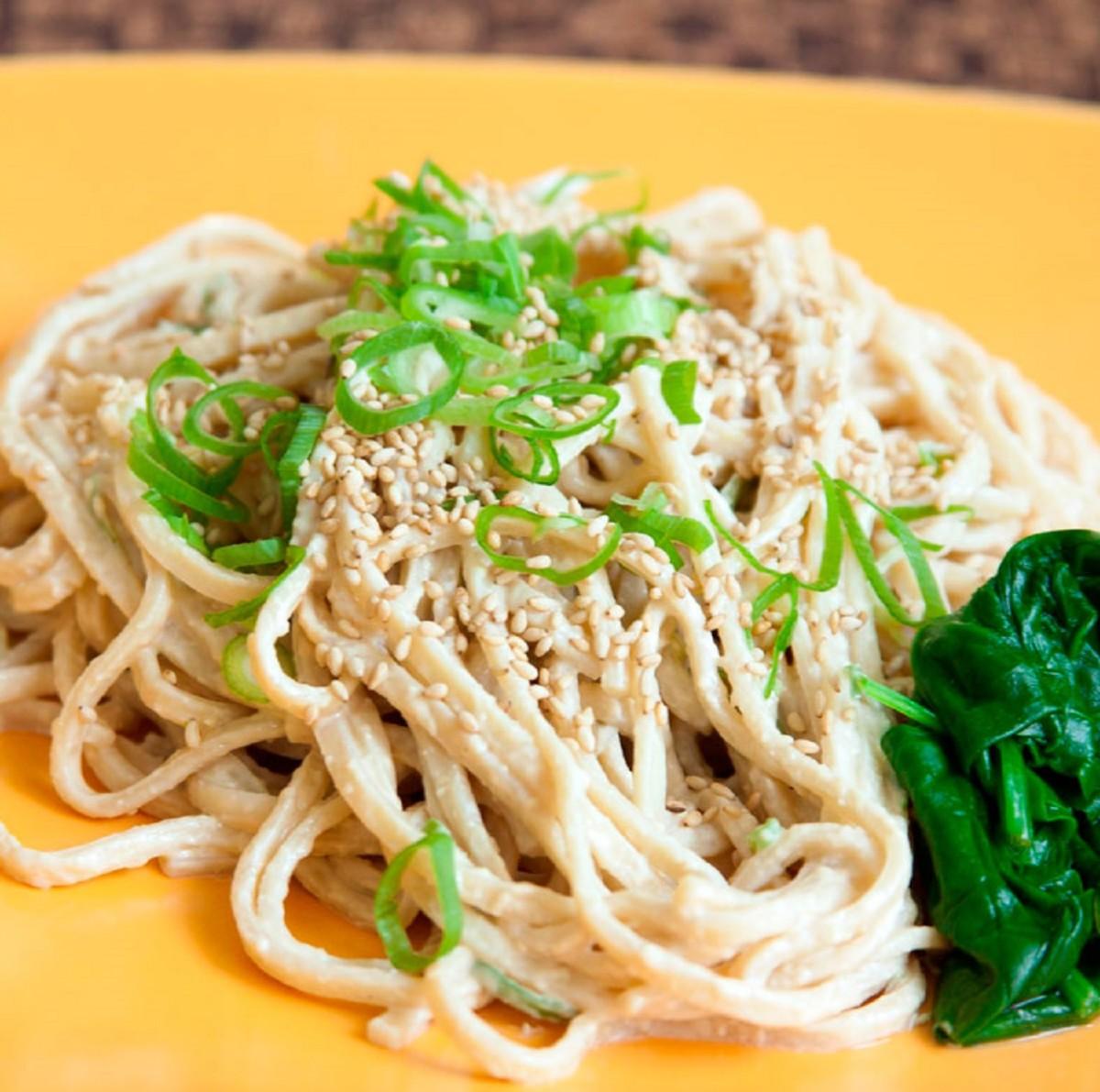 chilled soba noodles eden