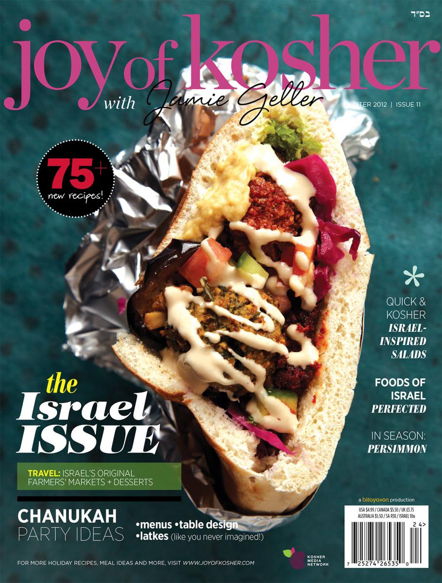 JOY of KOSHER with Jamie Geller Magazine Winter 2012