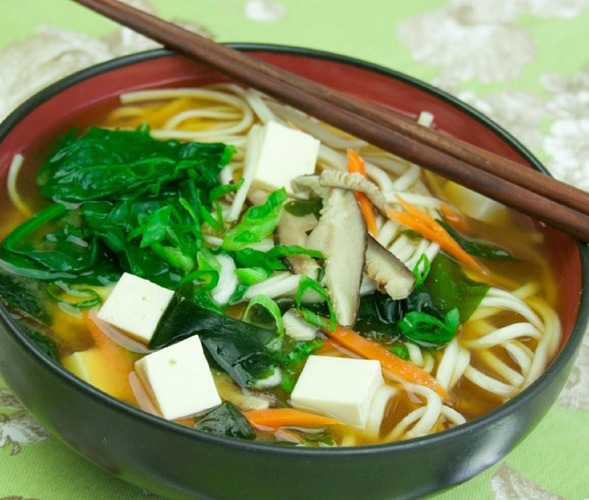 Blue apron udon miso - Udon Miso Soup Joy Of Kosher Udon Miso Soupjpg Udon Miso Soup