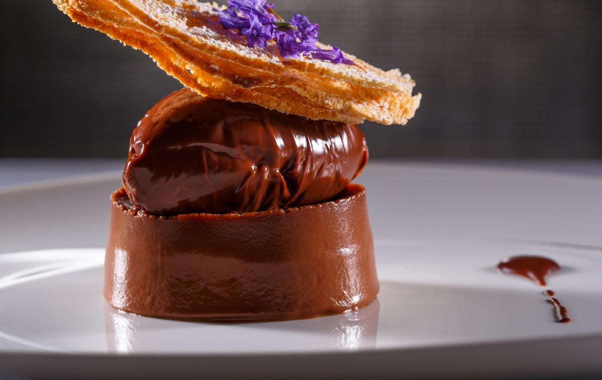 Chocolate Caramel Dessert Hayarkon 99