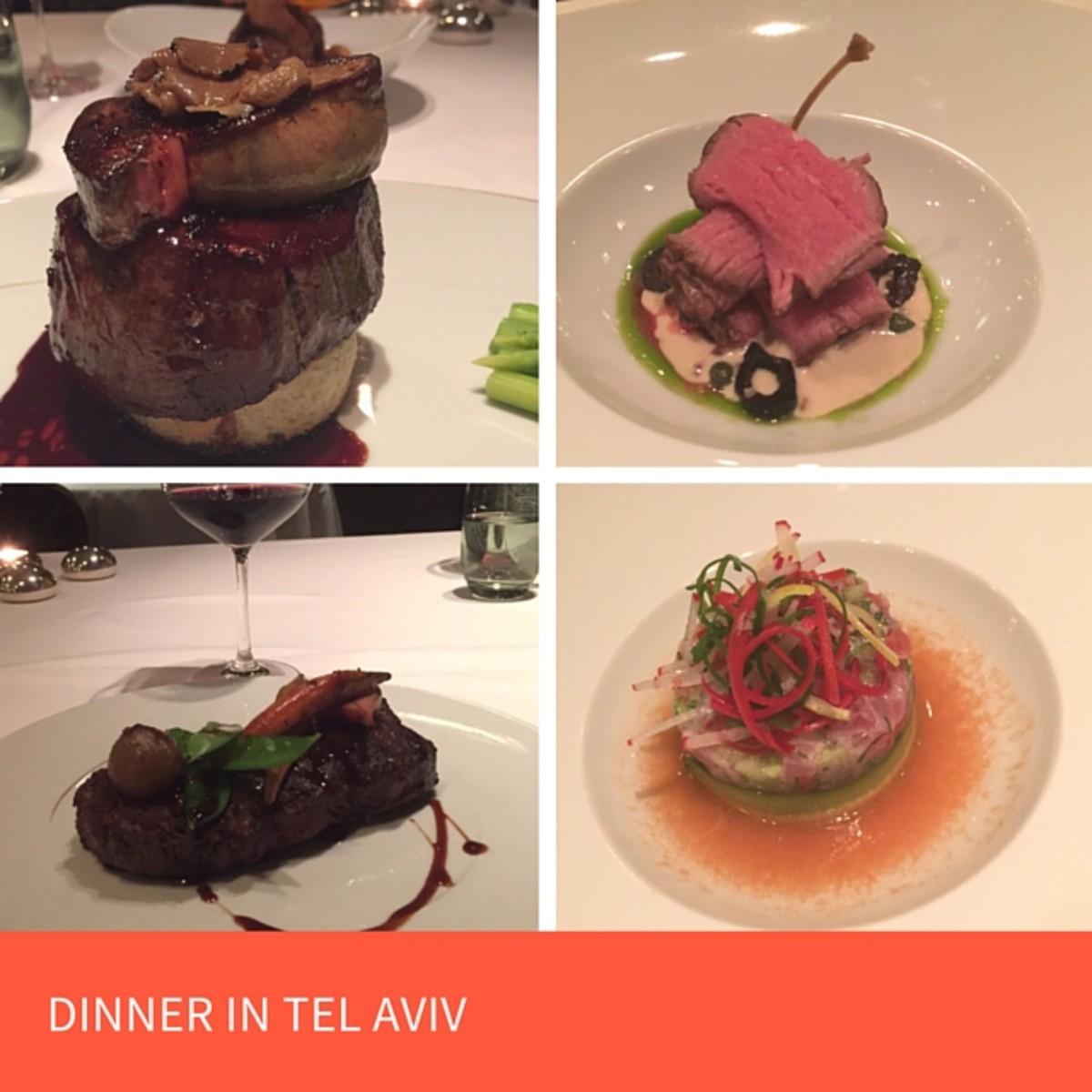 Hayarkon 99 restaurant experience