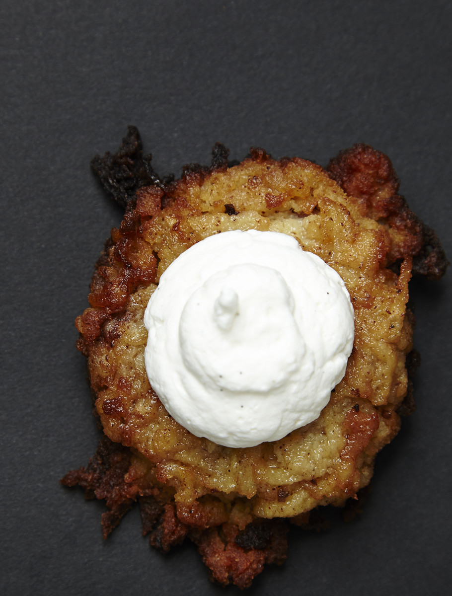 apple pie latke