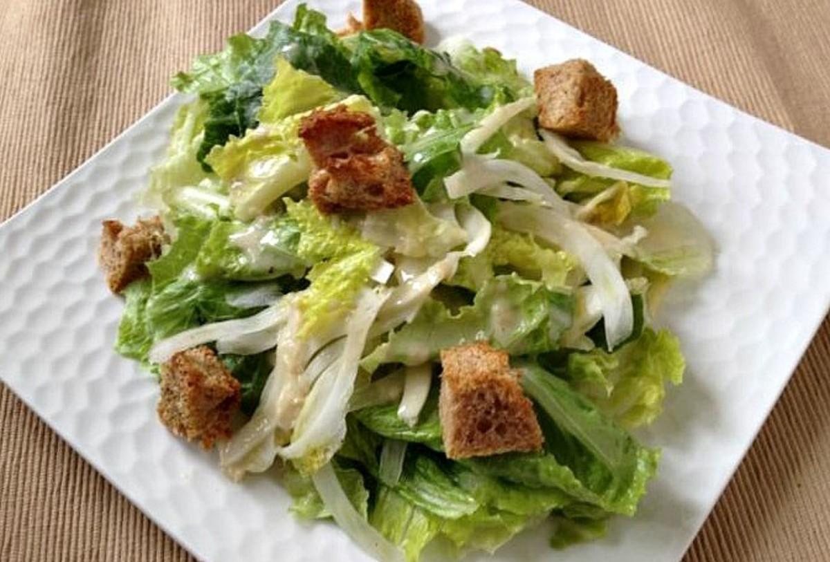 Fennel Caesar Salad