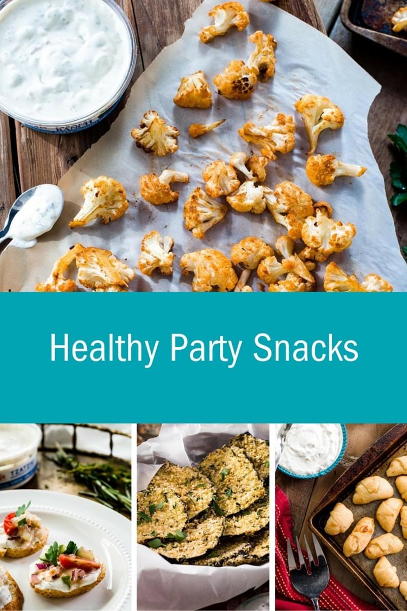 4 Healthy Party Snacks