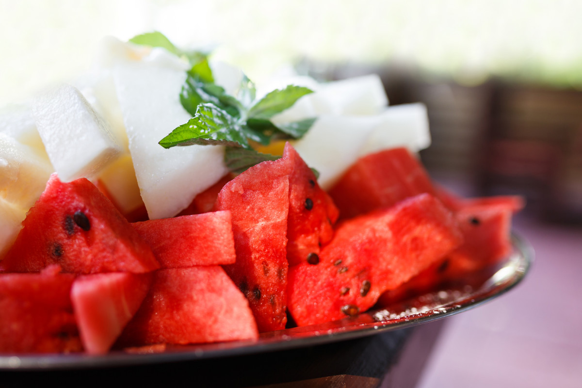 watermelon and red pepper salsa