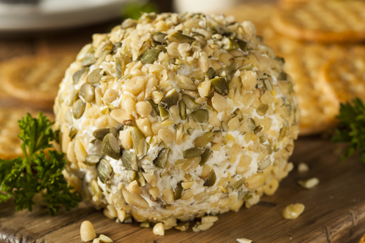 teriyaki cheese ball