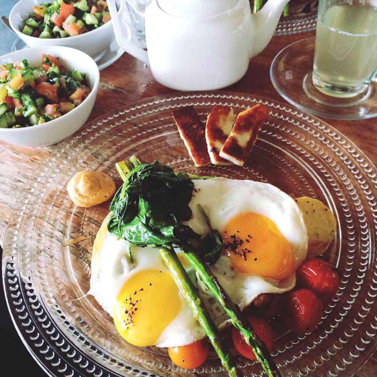 garden breakfast itamar
