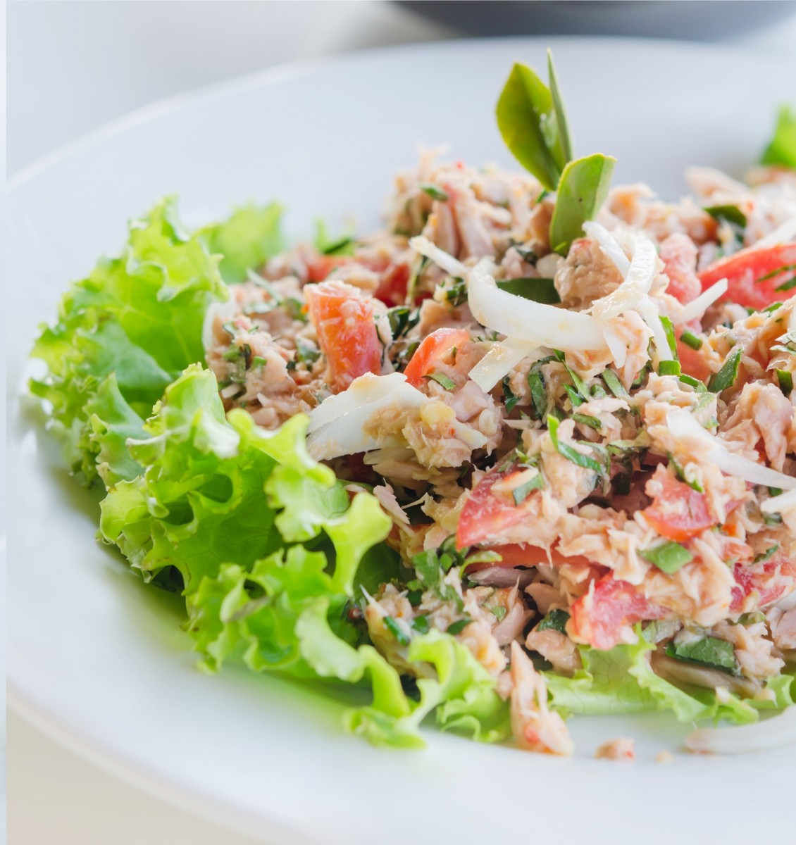 ISRAELI SPICY TUNA SALAD