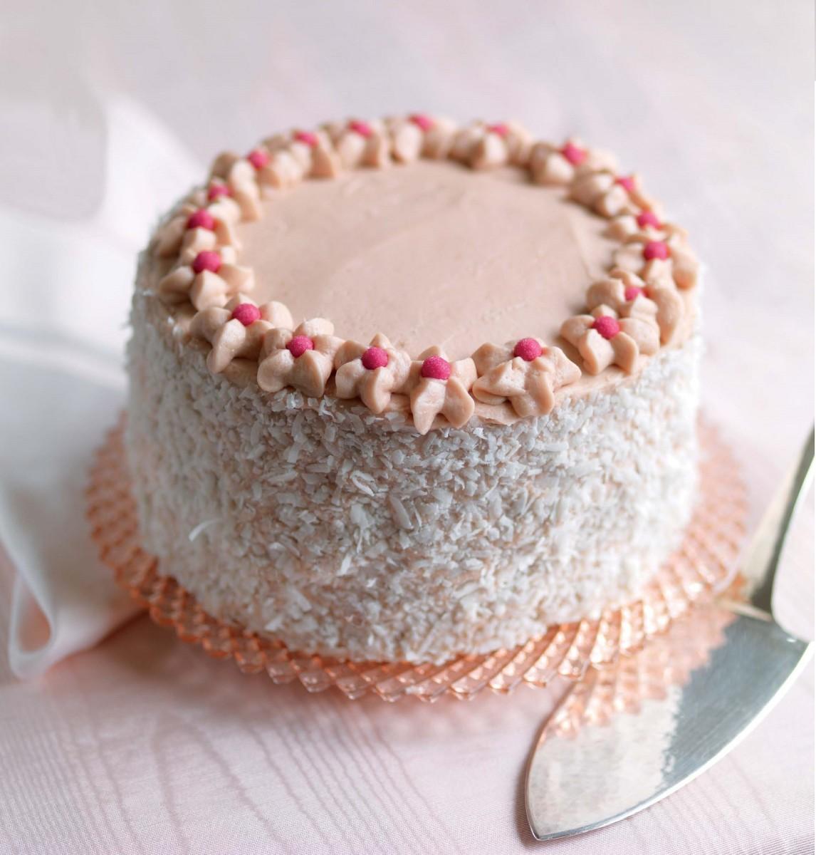 Pink Velvet Cake