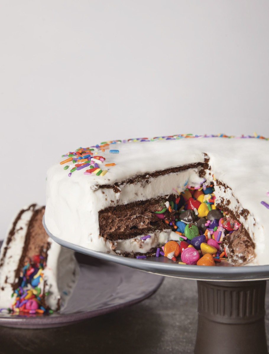 ice cream surprise cake