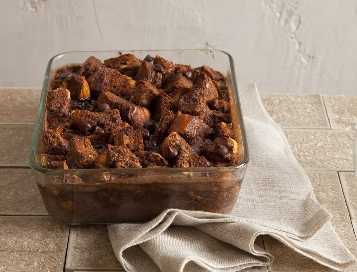 CHOCOLATE BREAD PUDDING2