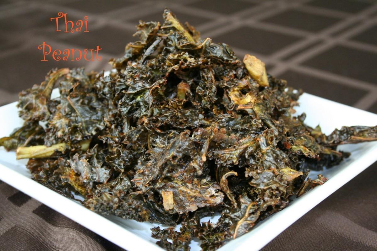 Thai Peanut Kale Chips