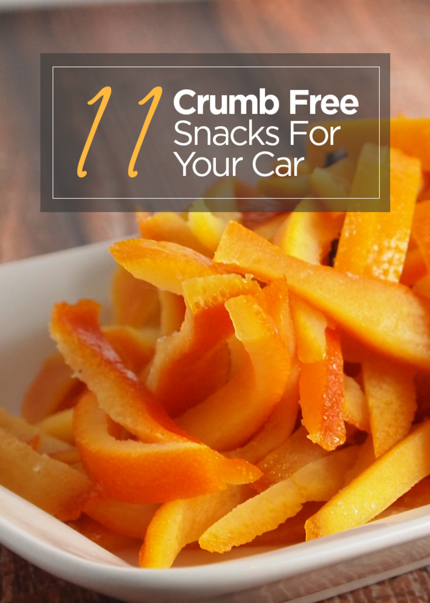 11 Crumb Free Snacks for the Car