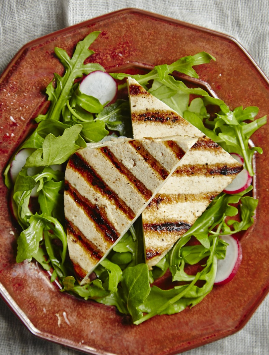 Grilled Tofu With Spice Rub