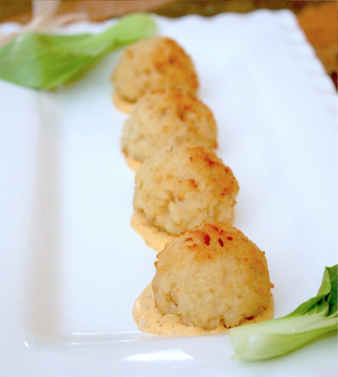 Thai Lemongrass Rice Balls