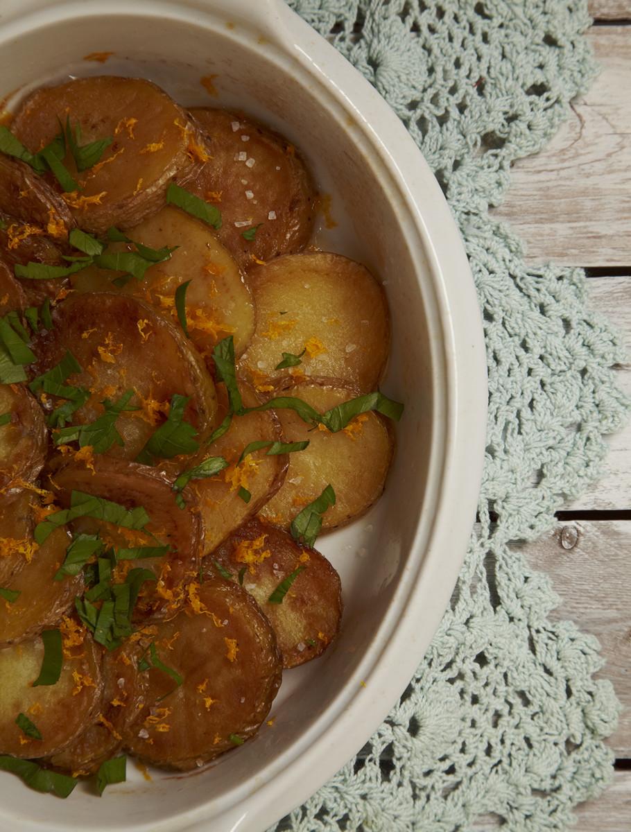Potatoes Sarladaises