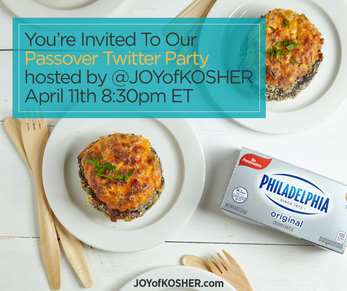 Philly 4 Passover Twitter Party