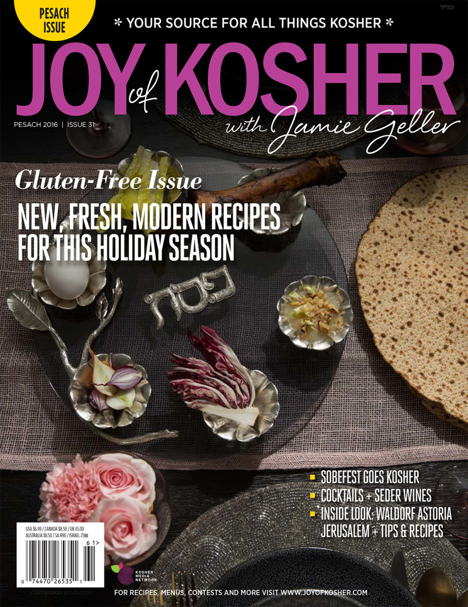 Pesach 2016 Joy of Kosher Magazine