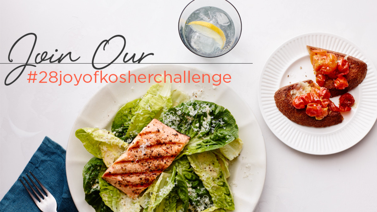 JOY of KOSHER 28 Day Meal Makeover Challenge