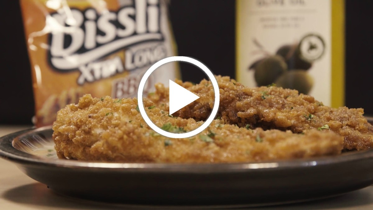 Bissli Chicken Schnitzel Video