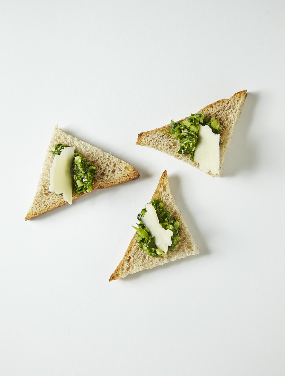 KALE PESTO AND PARMESAN