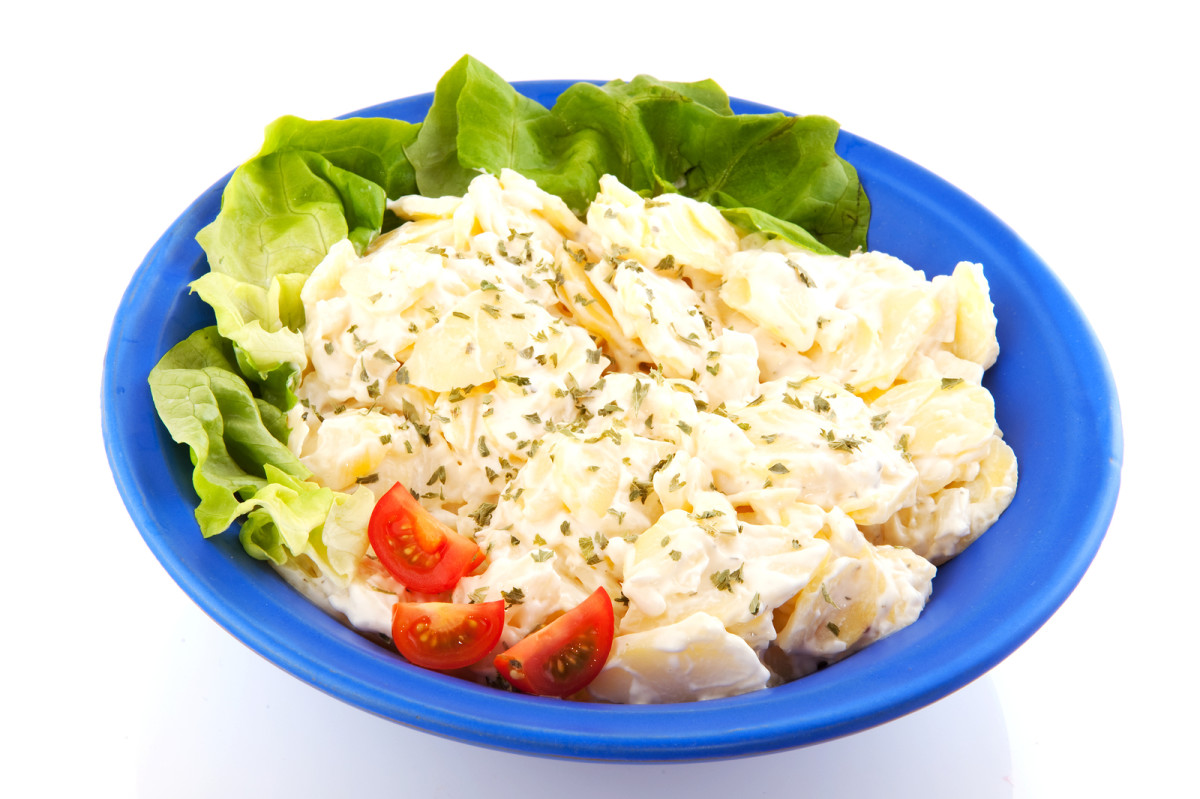 low fat dijon potato salad