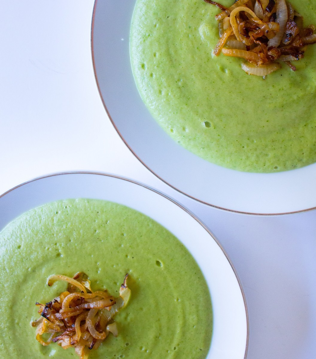BROCCOLI AND PARMESAN SOUP