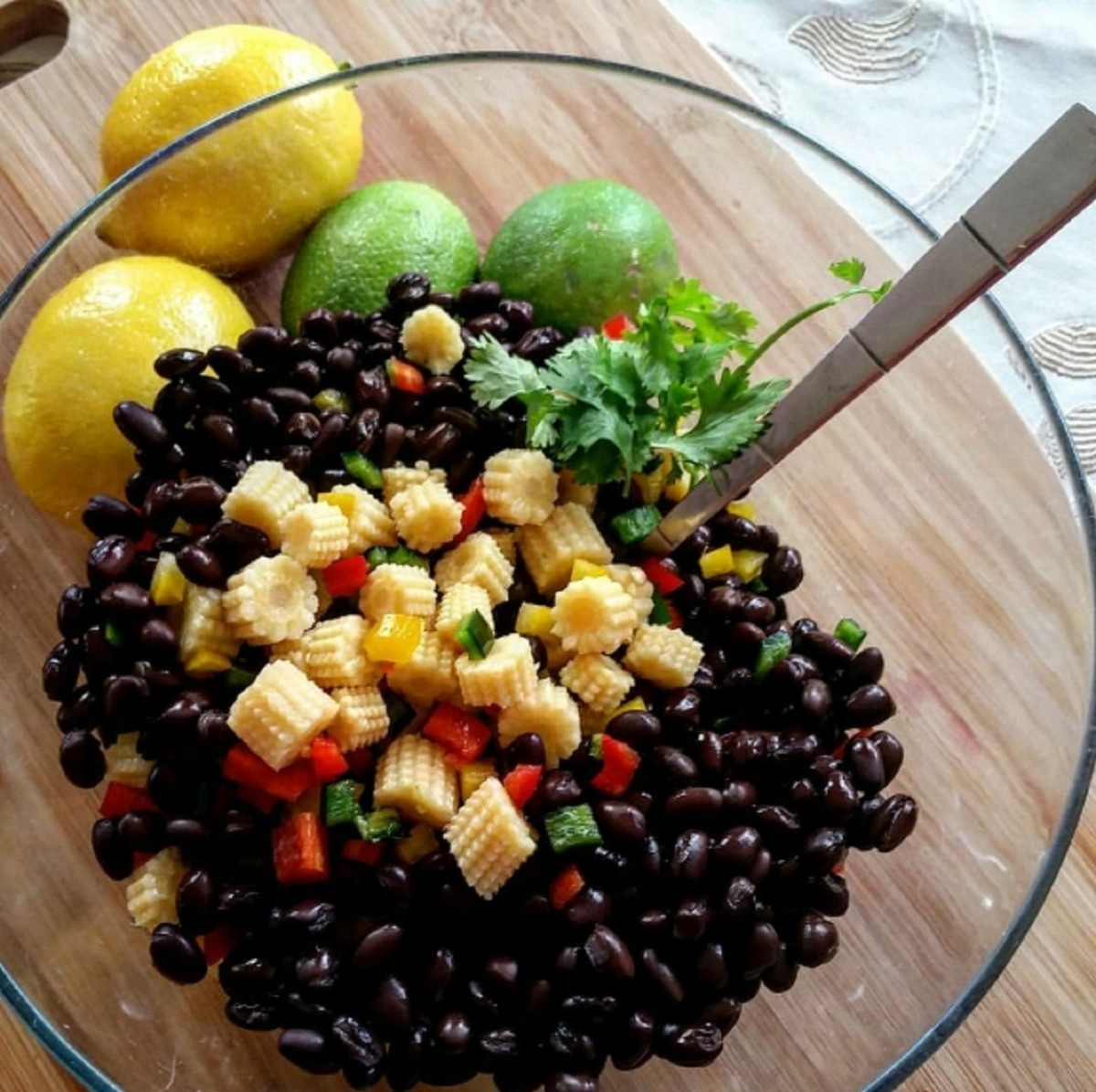 Veggie Black Bean Salad