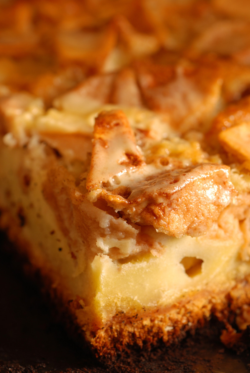 simple apple coffee cake