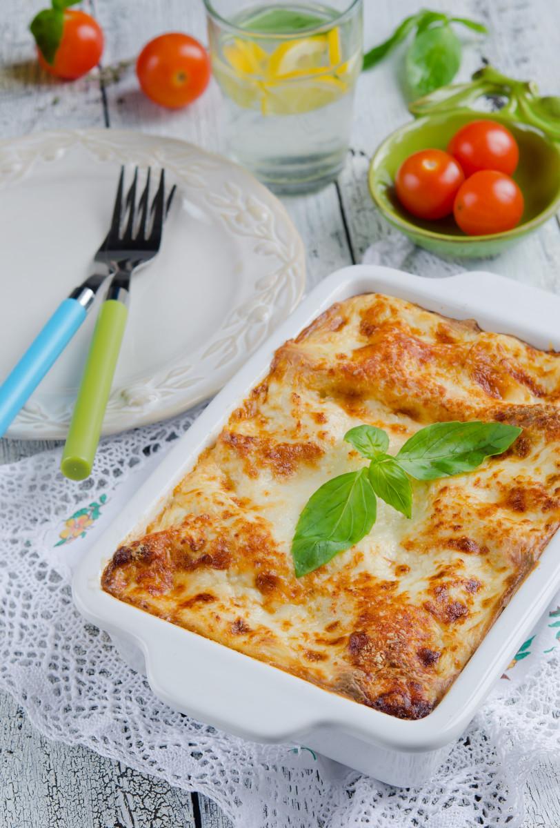 Cheesy Kosher Lasagna