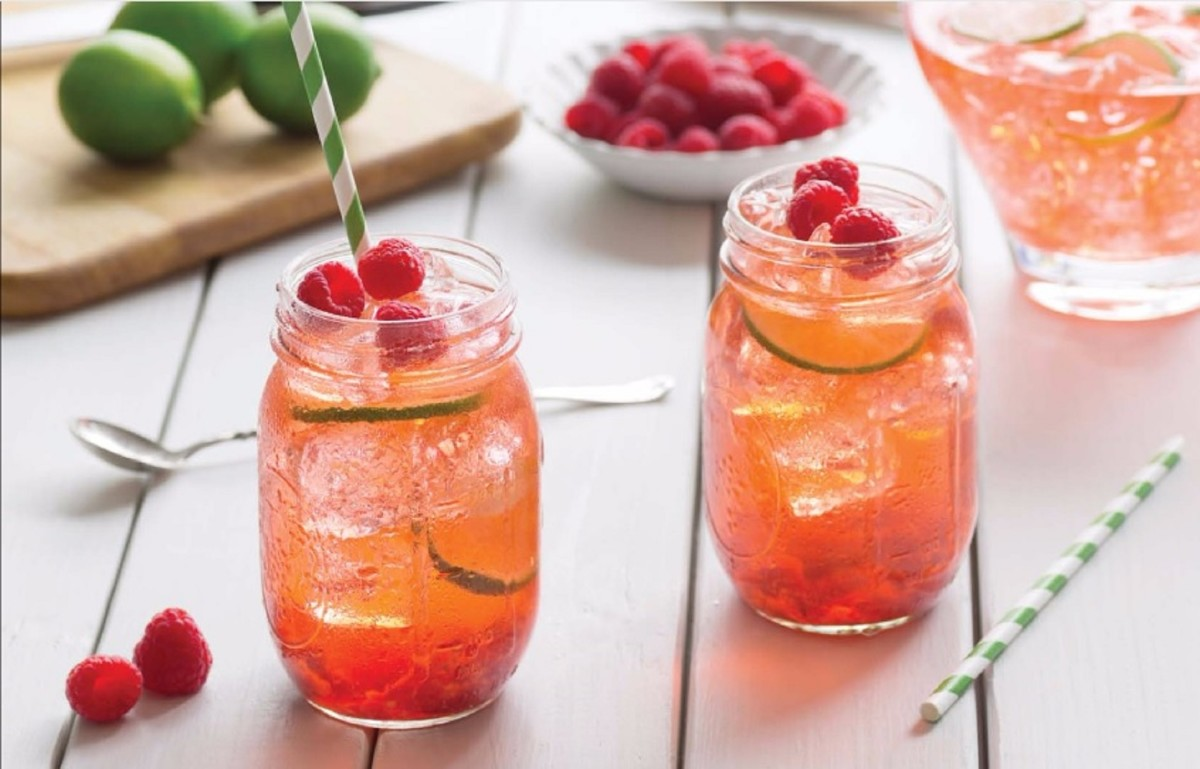 Lemon Zinger Iced Tea