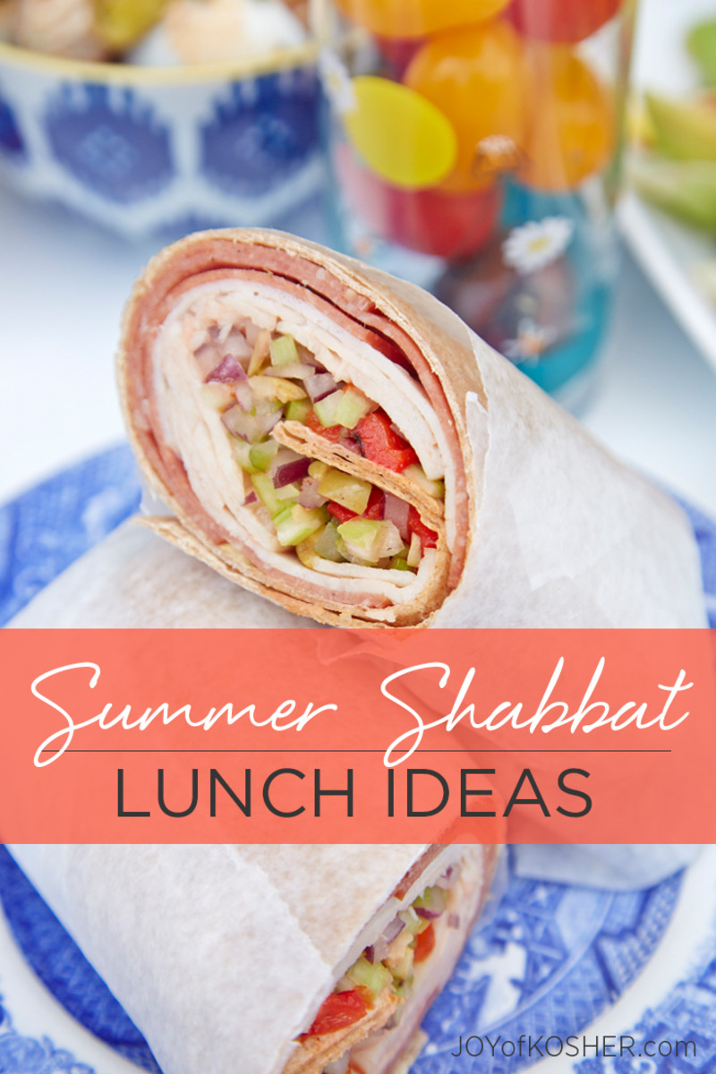 18 Shabbat lunch Ideas for hot summer days