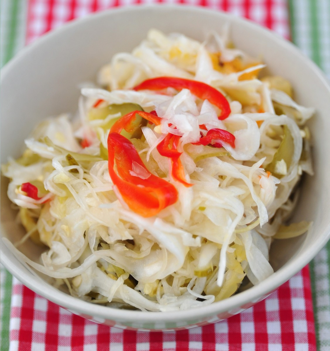 Tangy Crunchy Coleslaw