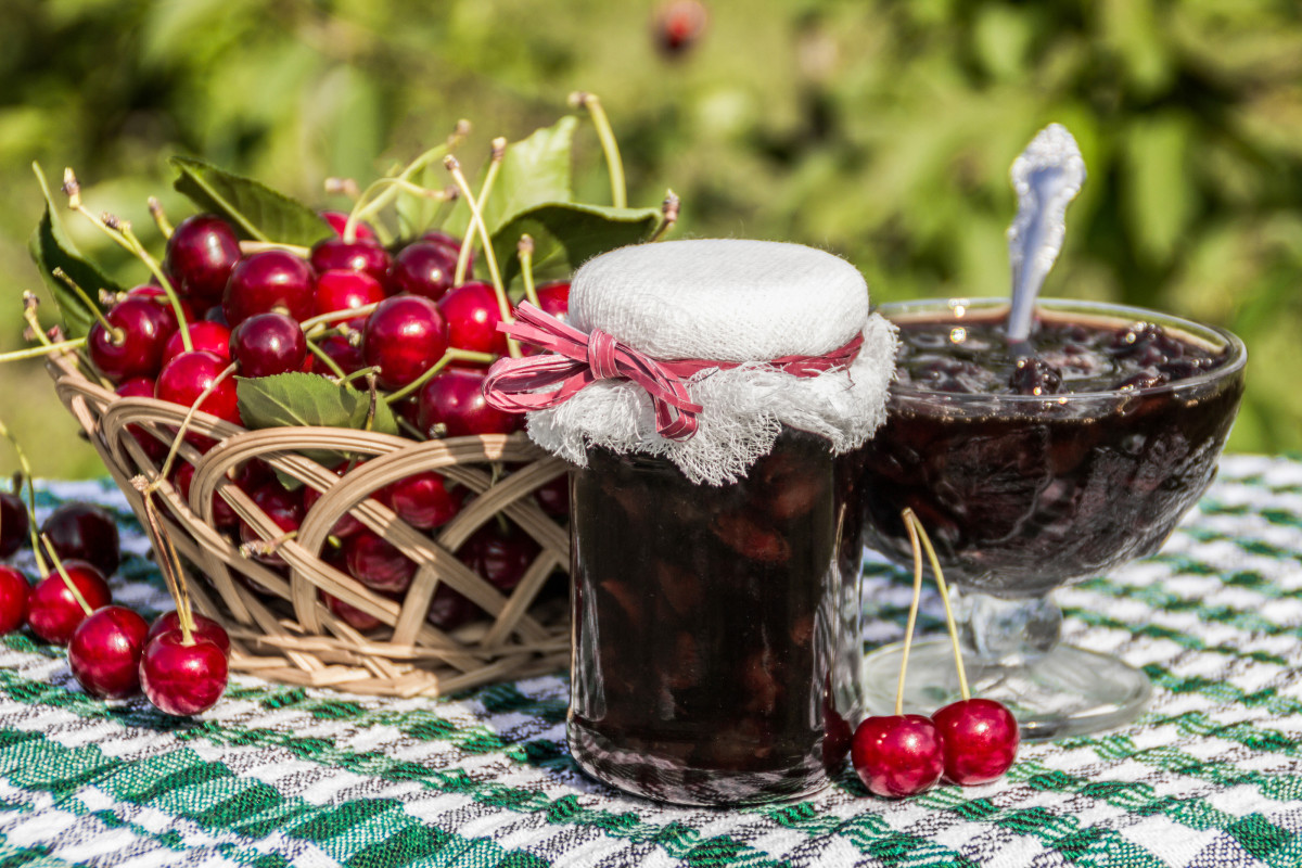 Homemade Cherry Jam