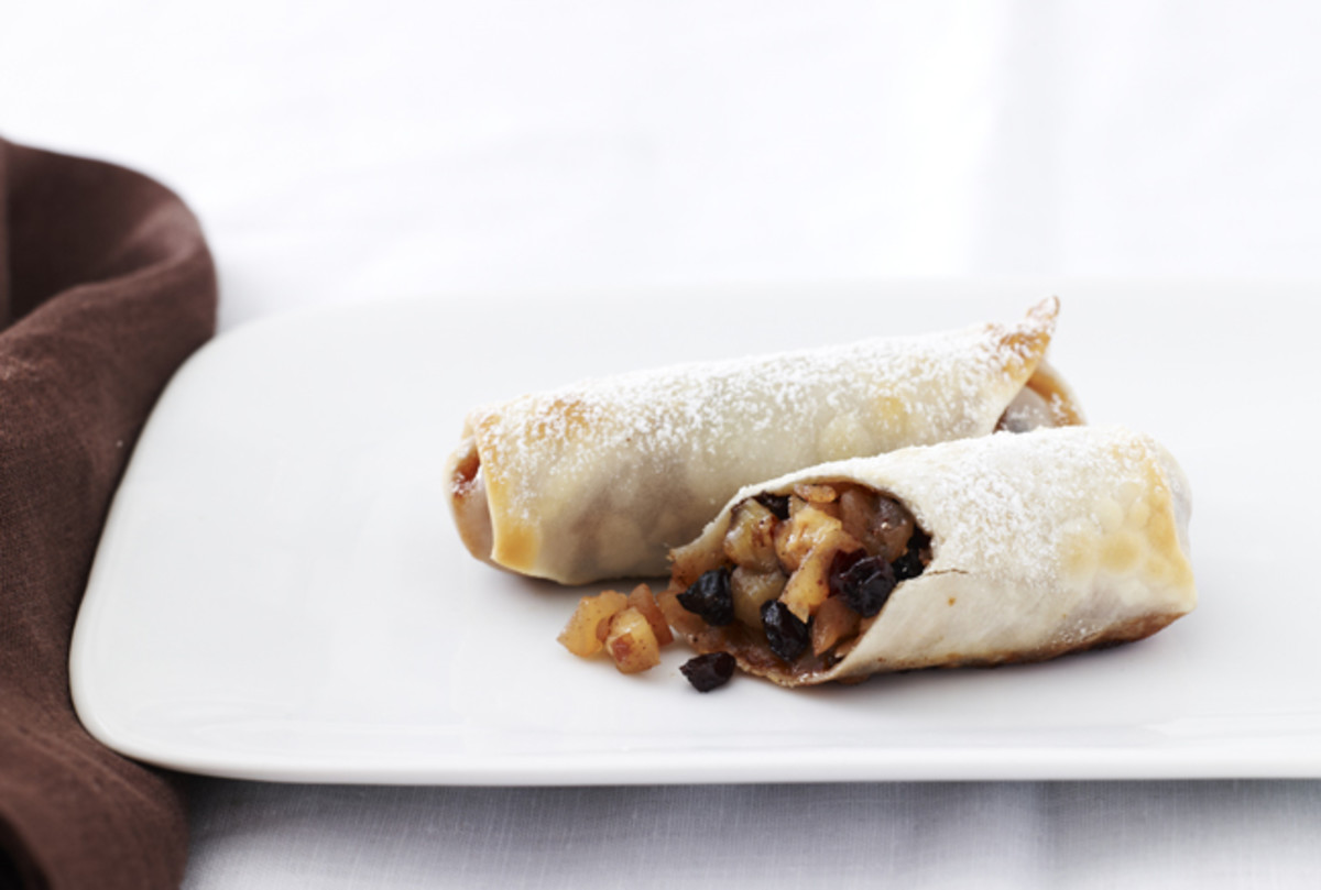 apple strudel eggroll