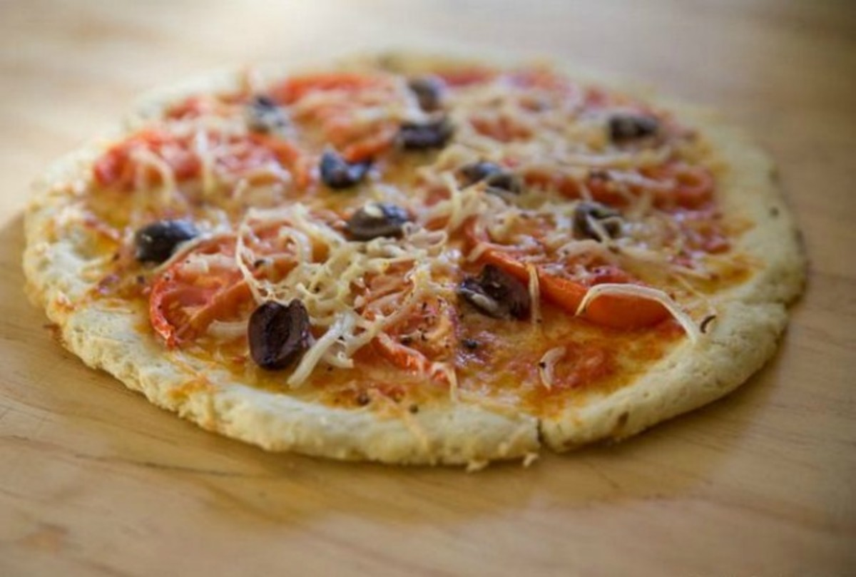 Quinoa Pizza Dough