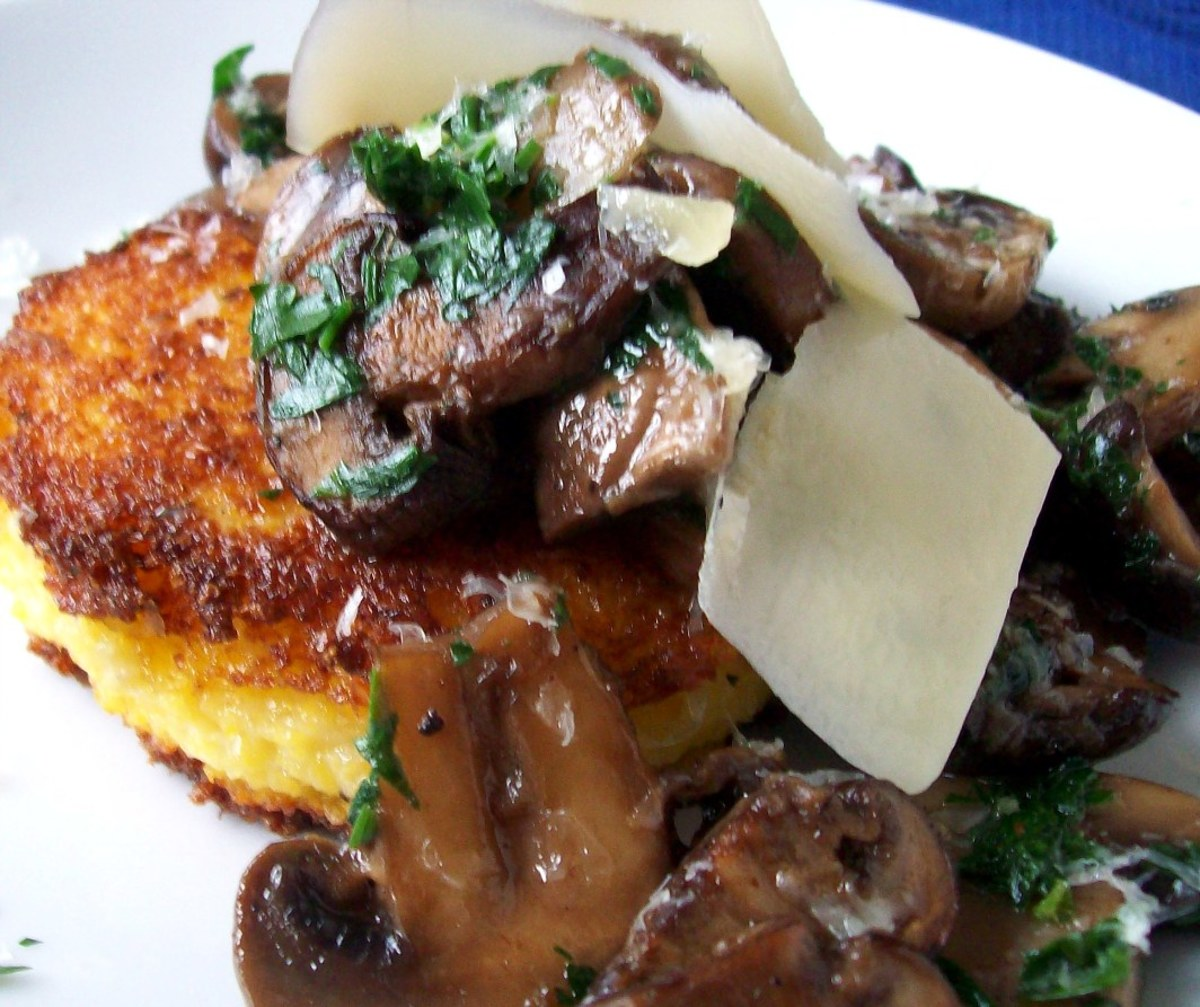 Polenta with Wild Mushrooms