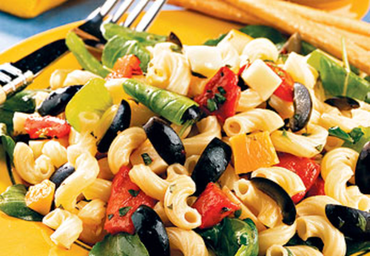 Marinated Macaroni Salad