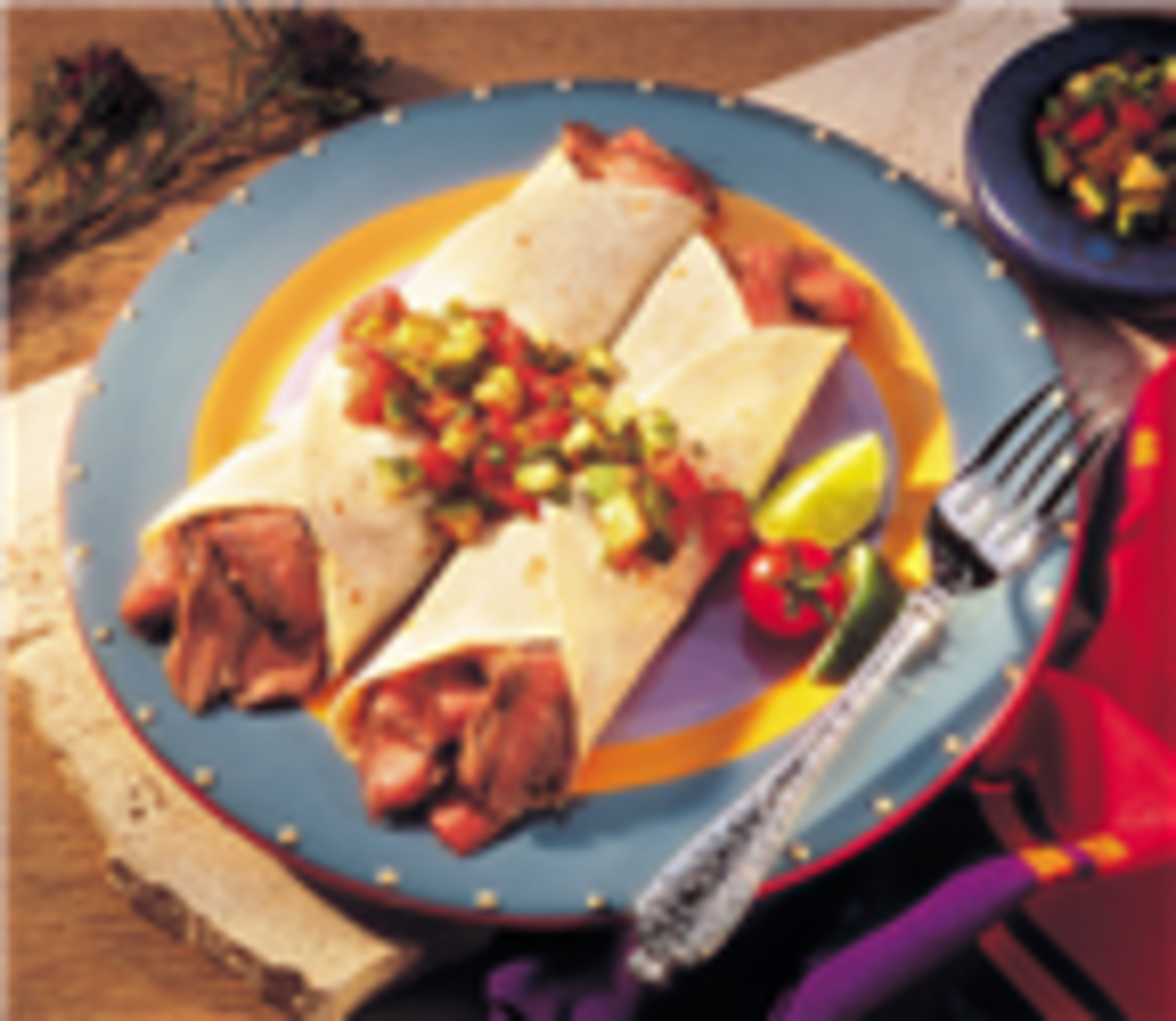 Quick Beef Fajitas With Pico De Gallo