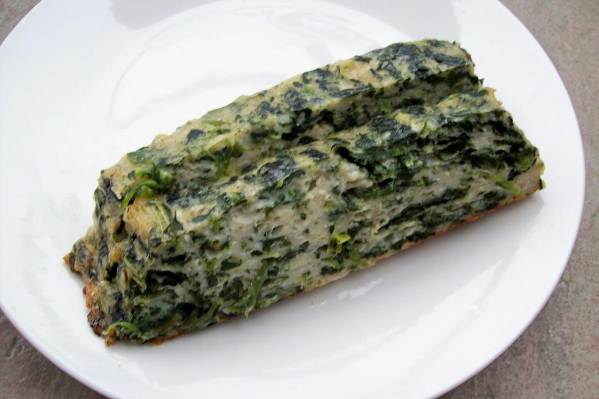 spinach gefilte