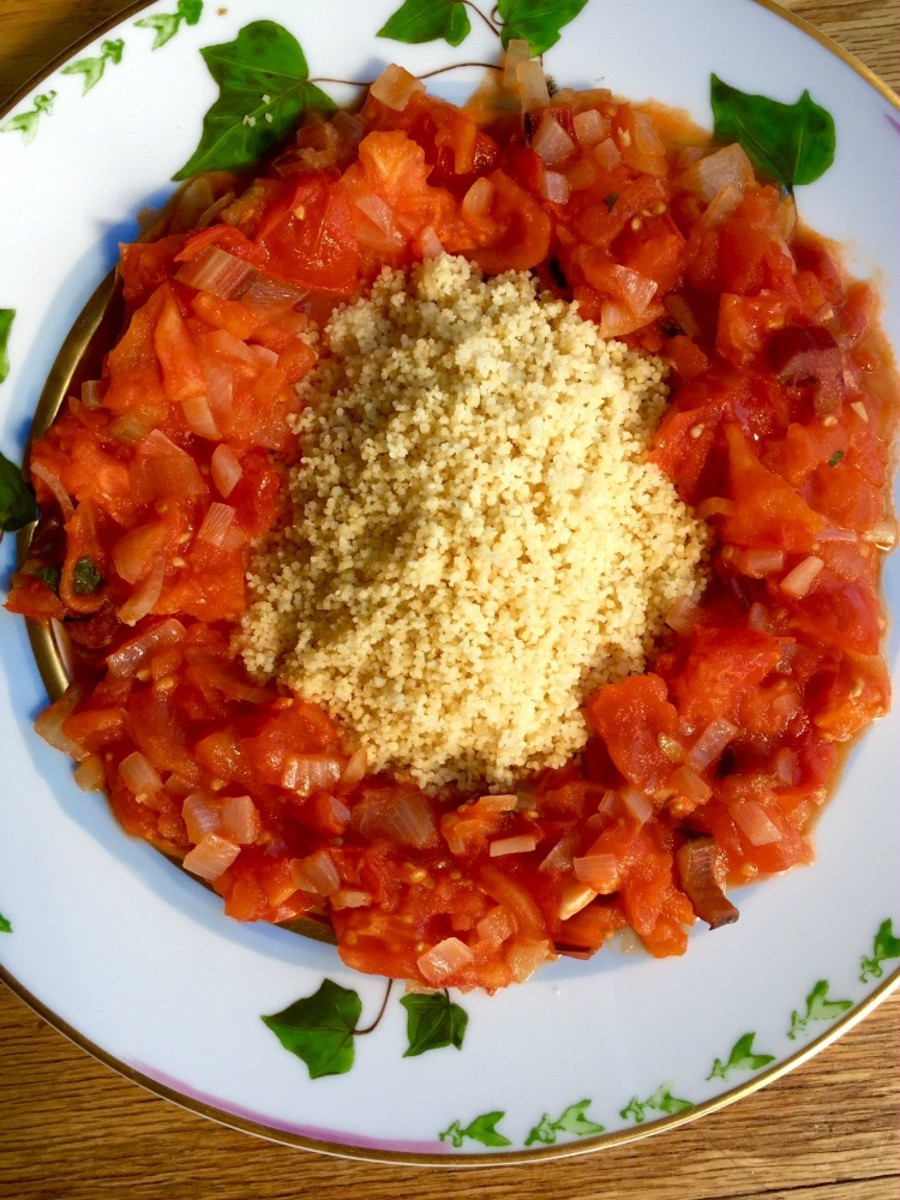 Coucous and Tomato Stew