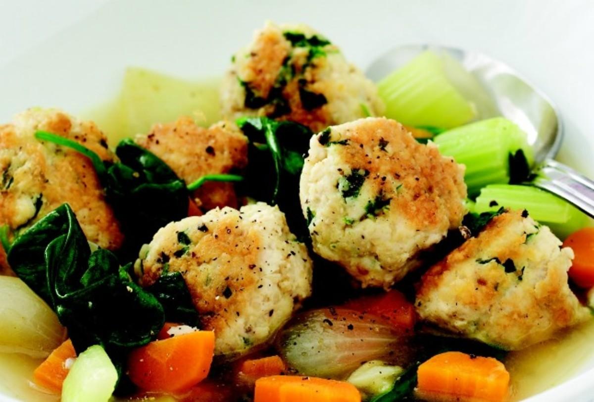 Chicken Meatball Stew