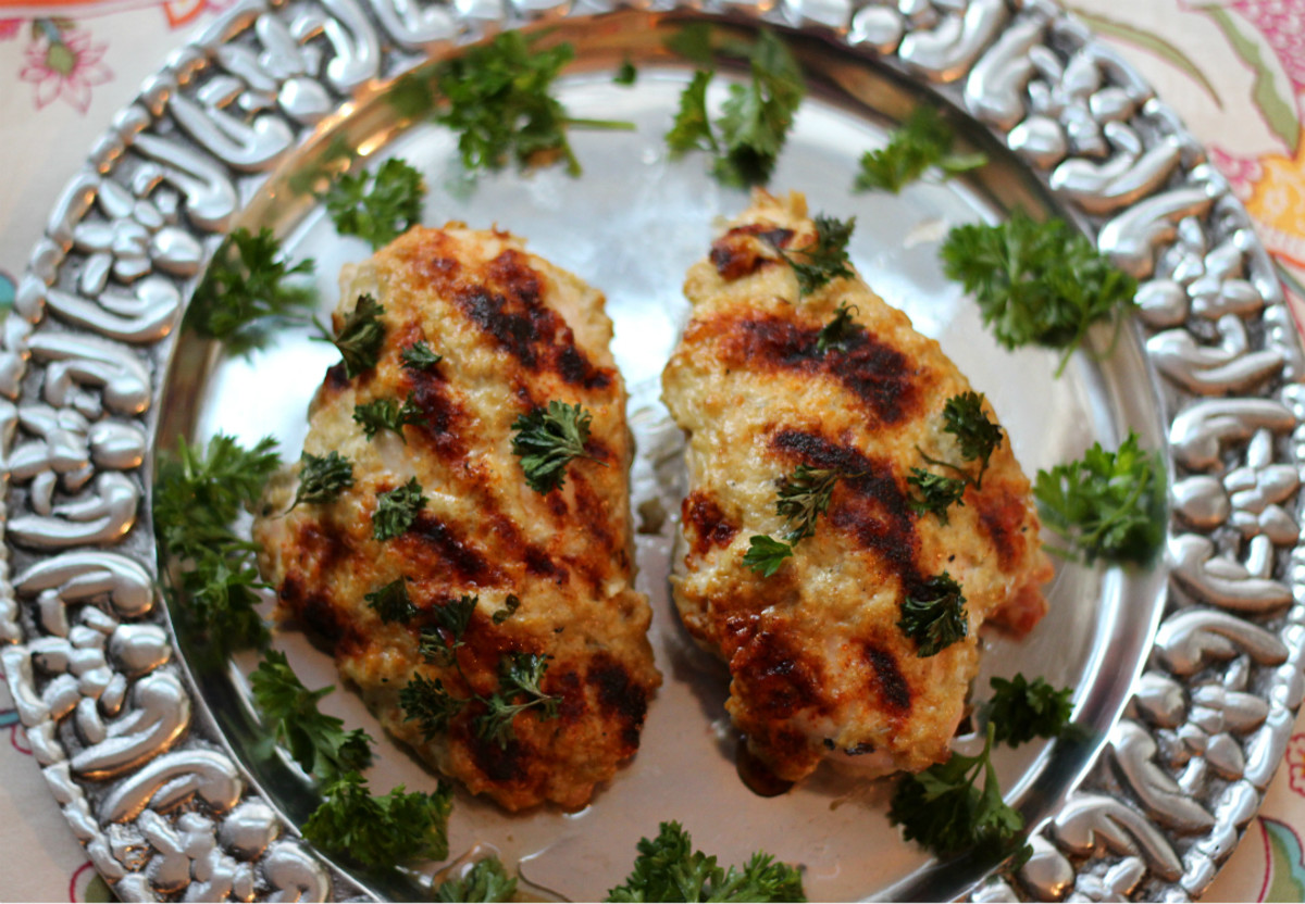 Chicken Babaganoush