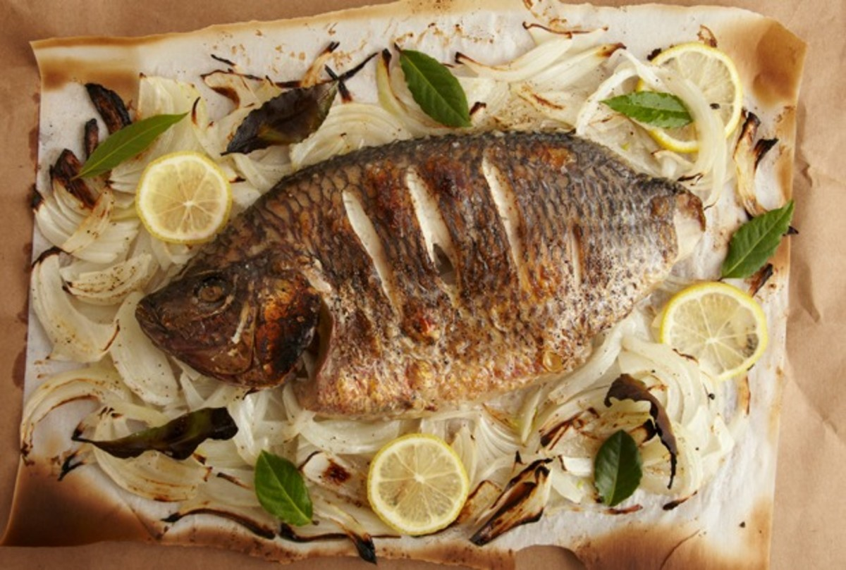 Whole Roasted Turbot